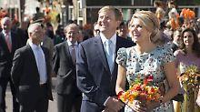 Aufregung um Video vom Königstag: Wurde Máxima am Po betatscht?