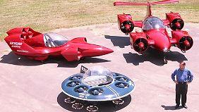 Mollers Skycars wollen einfach nicht fliegen.