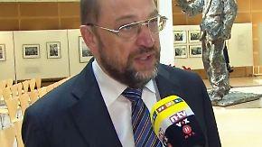 EU-Parlamentschef im Interview: Schulz äußert sich kritisch zu EU-Mitgliedschaft der Türkei