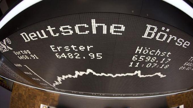 Im Auftaktsquartal 2014 steigt der Betriebsgewinn der Deutschen Börse um 80 Prozent.