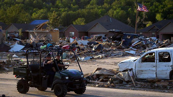 Keine Entwarnung in den USA: Tornados bringen dem Mittleren Westen und Süden Tod und Zerstörung