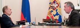"""""""Mit dem Trampolin zur ISS"""": Russischer Vize-Premier verspottet USA"""
