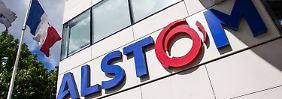Die Farben im Logo gehören zu Frankreich - wie französisch wird Alstom  bleiben?