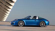 Der neue Porsche 911 Targa steht ab Mai bei den Händlern.