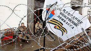 Referendum über Einheit geplant: Kiew verliert Kontrolle über Teile der Ukraine