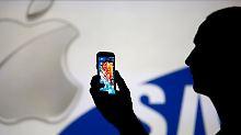 Patentstreit zwischen Rivalen: Samsung muss Apple entschädigen