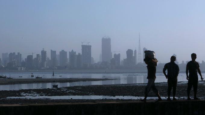 Das Gesicht unseres Planeten verändert sich: Eine Eisschmelze in der Ostantarktis bedeutet eine große Gefahr für Küstenstädte wie Mumbai in Indien.