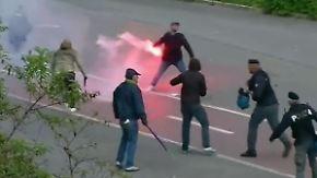 Krawalle vor Pokalfinale in Rom: Angeschossener Fan kämpft um sein Leben