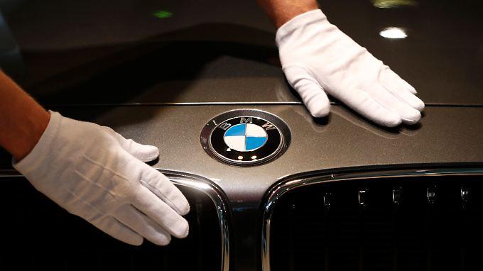 Auf Rekordkurs: BMW strotzt im ersten Quartal vor Kraft.