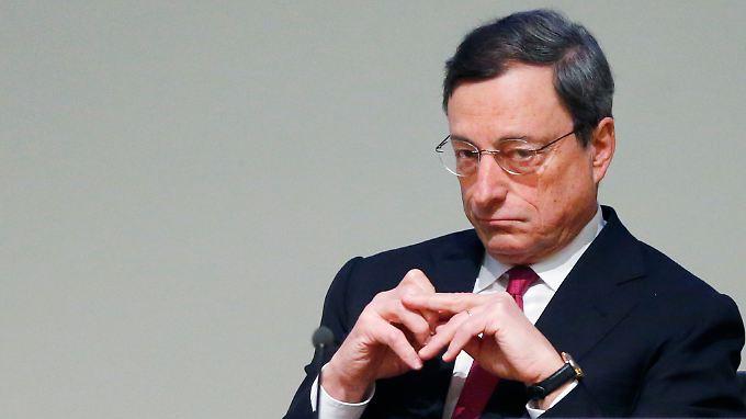 """""""Der EZB-Rat ist bereit, nächstes Mal zu handeln"""", sagt Draghi."""