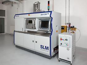 Sieht so die Zukunft aus? Ein 3D-Drucker von SLMSolutions (Archivbild).