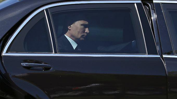 Wladimir Putin, nachdenklich.