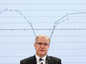 """""""Wir müssen unsere Zähne schärfen"""": Olli Rehn."""