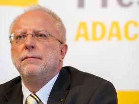 Übergangschef mit Reformaufgabe: ADAC-Interimspräsident August Markl.