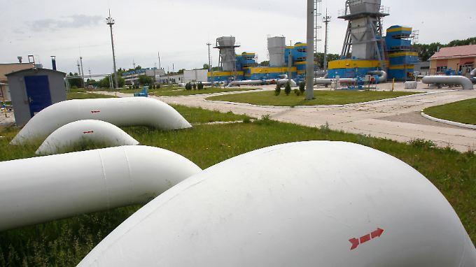 Gazprom unkt, dass die Gas-Vorräte der Ukraine knapp bemessen seien.