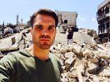 """Reporter berichtet aus Homs: """"Menschen aßen die Blätter von Bäumen"""""""