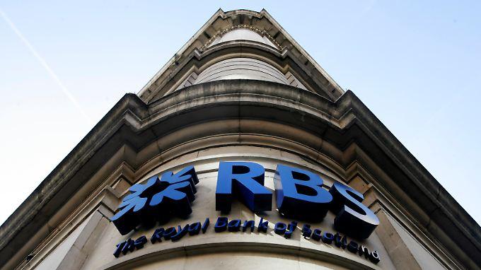 Auch im die Royal Bank of Scotland musste teilverstaatlicht werden.