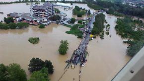 Gefährliche Fluten auf dem Balkan: Hochwasser spült Landminen an die Oberfläche