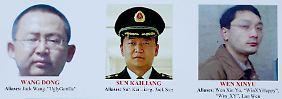 Gesucht vom FBI: Die USA klagen fünf chinesische Militärs an.