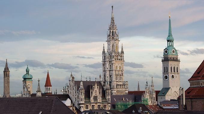 Die Immobilienpreise in Mpnchen sind deutschlandweit spitze.