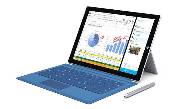 Microsoft möchte, dass das Surface Pro 3 möglichst viele Notebooks ersetzt.