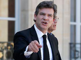 Schätzt das offene Wort: Frankreichs Wirtschaftsminister Montebourg.