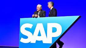 Stühlerücken beim Softwarekonzern: SAP will die Datenwolke erobern