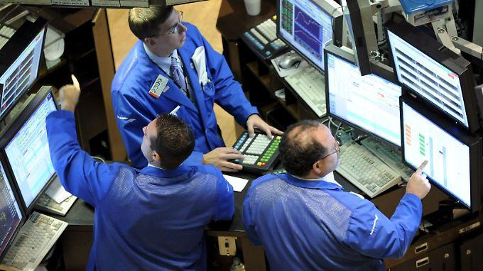 Die Wall Street freut sich über die Fed-Protokolle.