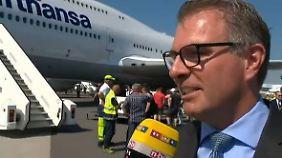"""Carsten Spohr im n-tv Interview: """"Über 250 neue Flugzeuge sind bestellt"""""""