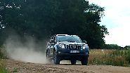 Toyota Land Cruiser: Unterwegs auf jedem Belag