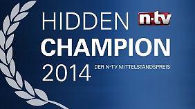 """""""Hidden Champion"""" 2014: n-tv ehrt mittelständische Unternehmen"""