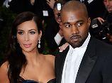 Kim Kardashian in Feierlaune. Foto: Britta Pedersen
