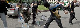 Widrige Wahl in der Ukraine: Ein Zeichen - der Gewalt zum Trotz