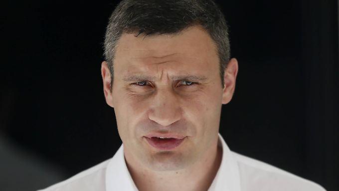 Vitali Klitschko unterstützte im Wahlkampf den Präsidentschaftskandidaten Petro Poroschenko.