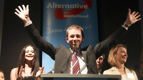 Europawahl 2014 in Deutschland: Freude bei SPD und AfD, Trauer bei FDP