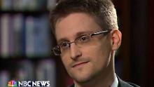 """Snowden spricht im US-Fernsehen: """"Ich war ein klassischer Spion"""""""