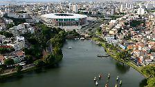 """Salvador da Bahia</br> <b>""""Arena Fonte Nova""""</b></br></br>"""