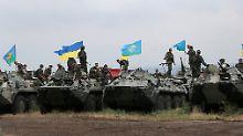 OSZE-Geiseln weiter vermisst: Ukrainische Truppen stürmen Slawjansk