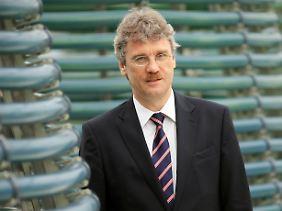 Unter Verdacht: Jochen Großmann - bis vor kurzem noch amtierender BER-Technikchef - will die Vorwürfe aufklären (Archivbild).