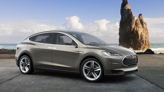 Das Serienauto wird vom hier abgebildeten Prototyp des Model X doch noch ein wenig abweichen.