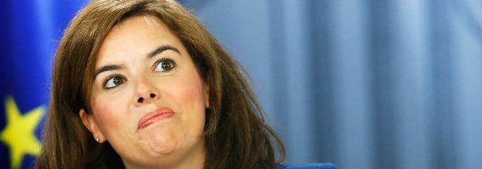 Steuergeld für Neuwagen: Vize-Ministerpräsidentin Soraya Saenz de Santamaria vertritt eine wenig nachhaltige Arbeitsmarktpolitik.
