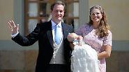 Schwedische Prinzessinnen wie aus dem Märchen: Leonore wird getauft