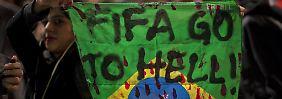 Proteste vor WM-Eröffnungsspiel: São Paulo kommt nicht zur Ruhe