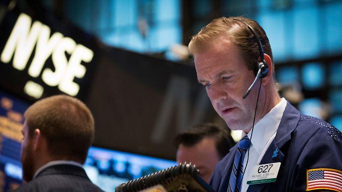 Kein Ausreißer nach oben - aber auch nicht nach unten im bisherigen Wochenverlauf an der Wall Street.