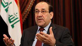 Nuri al-Maliki hat die Sunniten verprellt.