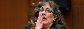 Sherri Lynn Wilkins vor Gericht.