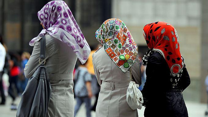 In vielen türkischen Familien wird eine Ausbildung für Frauen nicht für nötig befunden.