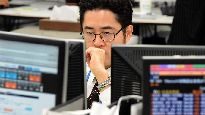Der japanische Leitindex beendete zum fünften Mal in Folge den Handel im Minus.