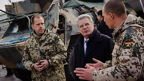 Forderung stößt auf geteiltes Echo: Gauck gegen Tabuisierung von Militäreinsätzen