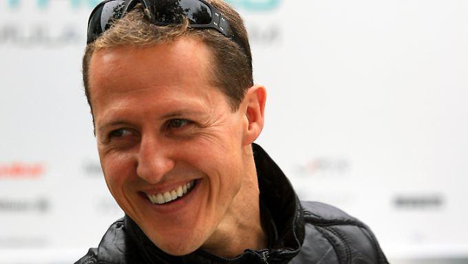 Schumacher 2011 in Australien.
